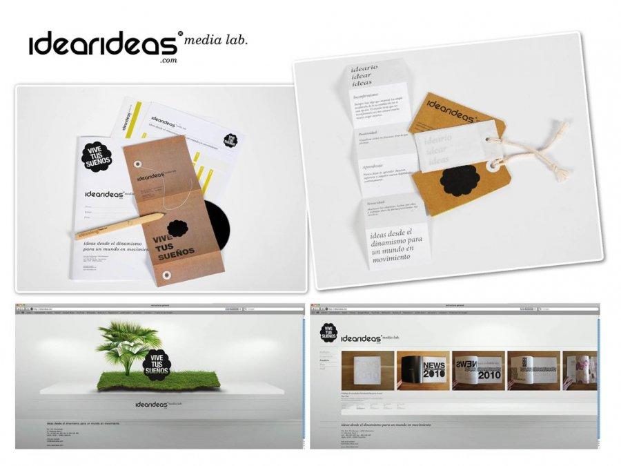 IDEARIDEAS® Media Lab PINTA ESTE AÑO SU CEREBRO CON MENSAJES