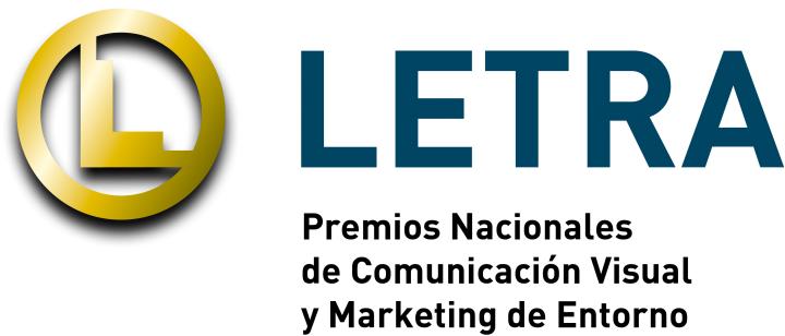 logotipo premi LETRA